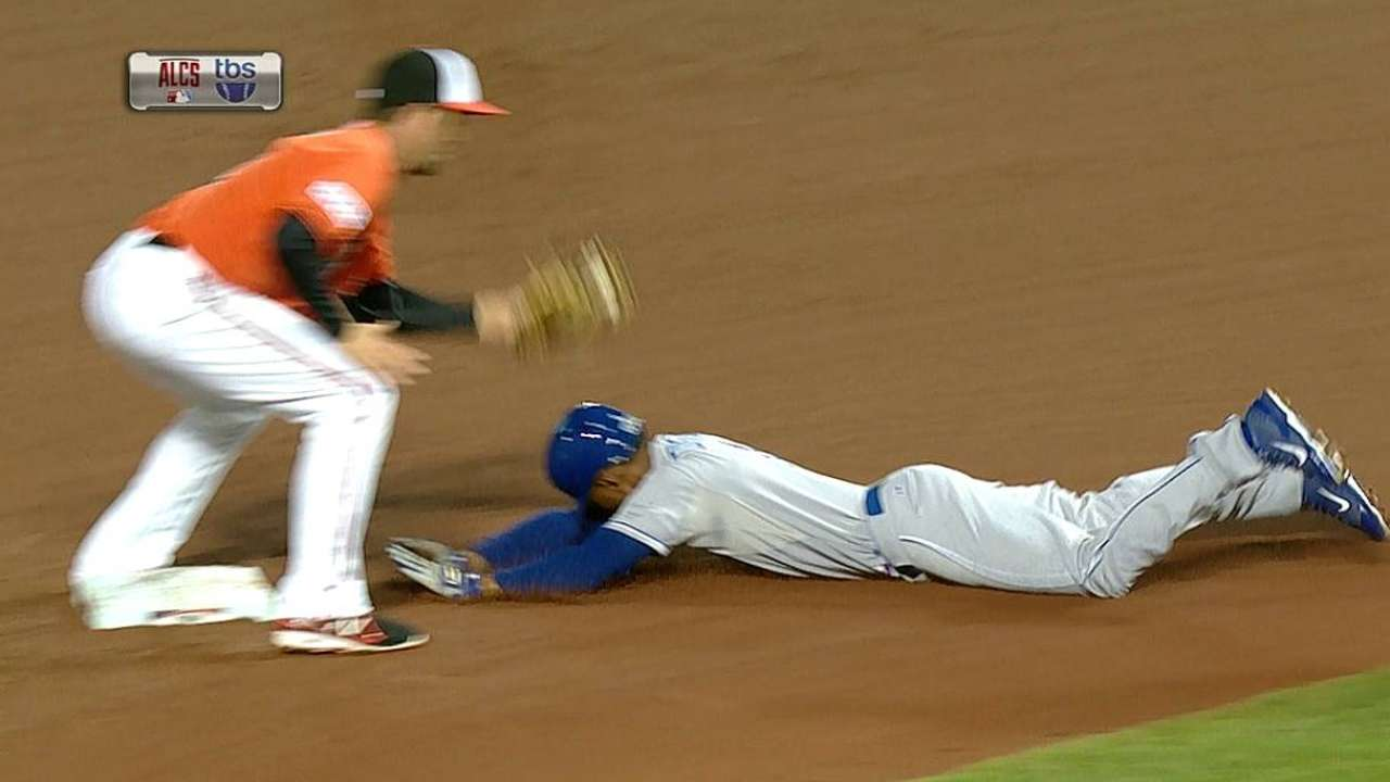 Orioles become imposition to Royals running game
