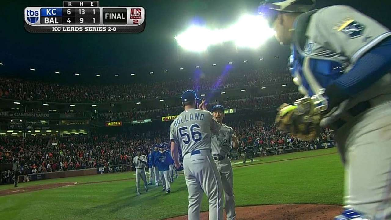 Spotless relief becoming standard for Royals