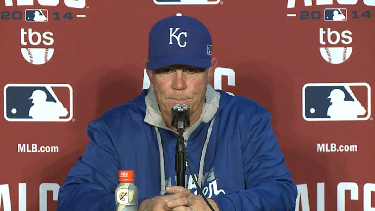 Oct. 11 Ned Yost postgame interview
