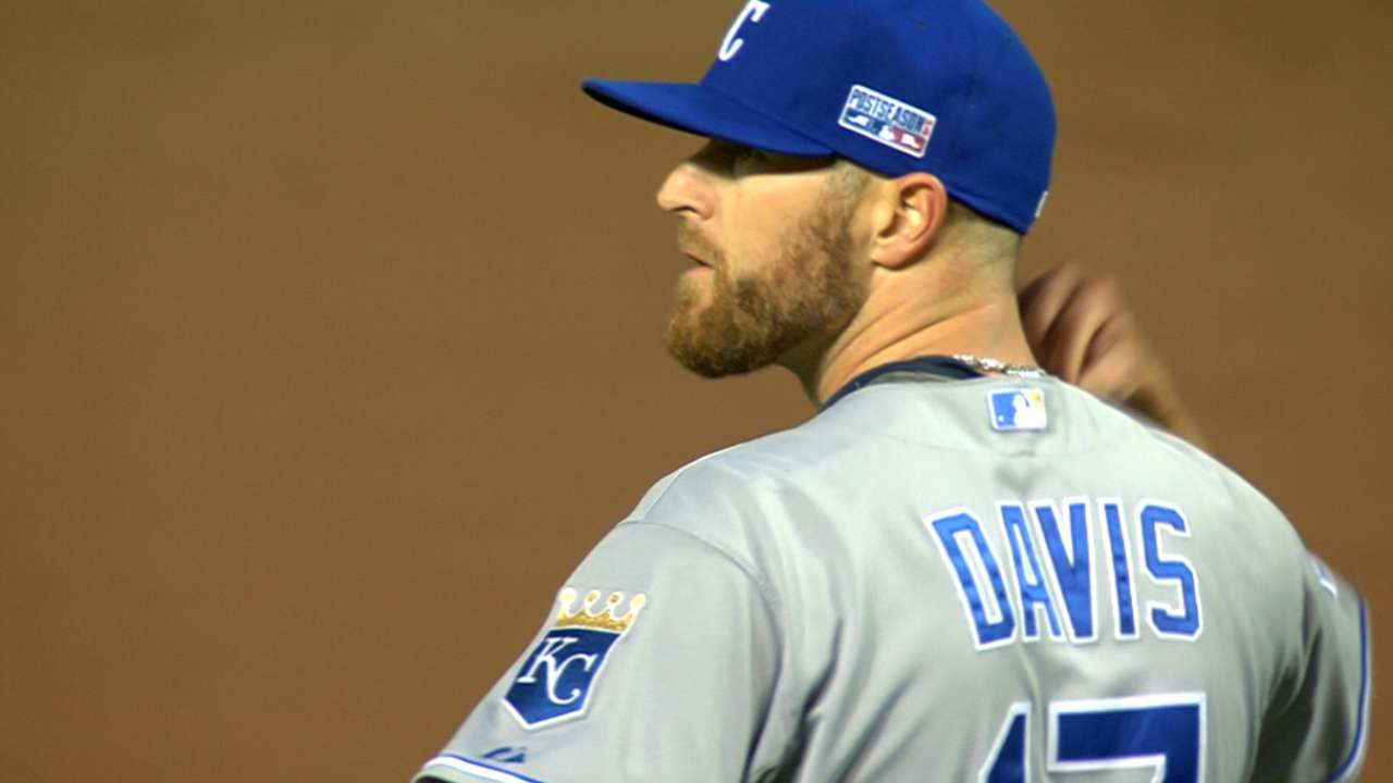 Royals' bullpen trio in lockdown mode