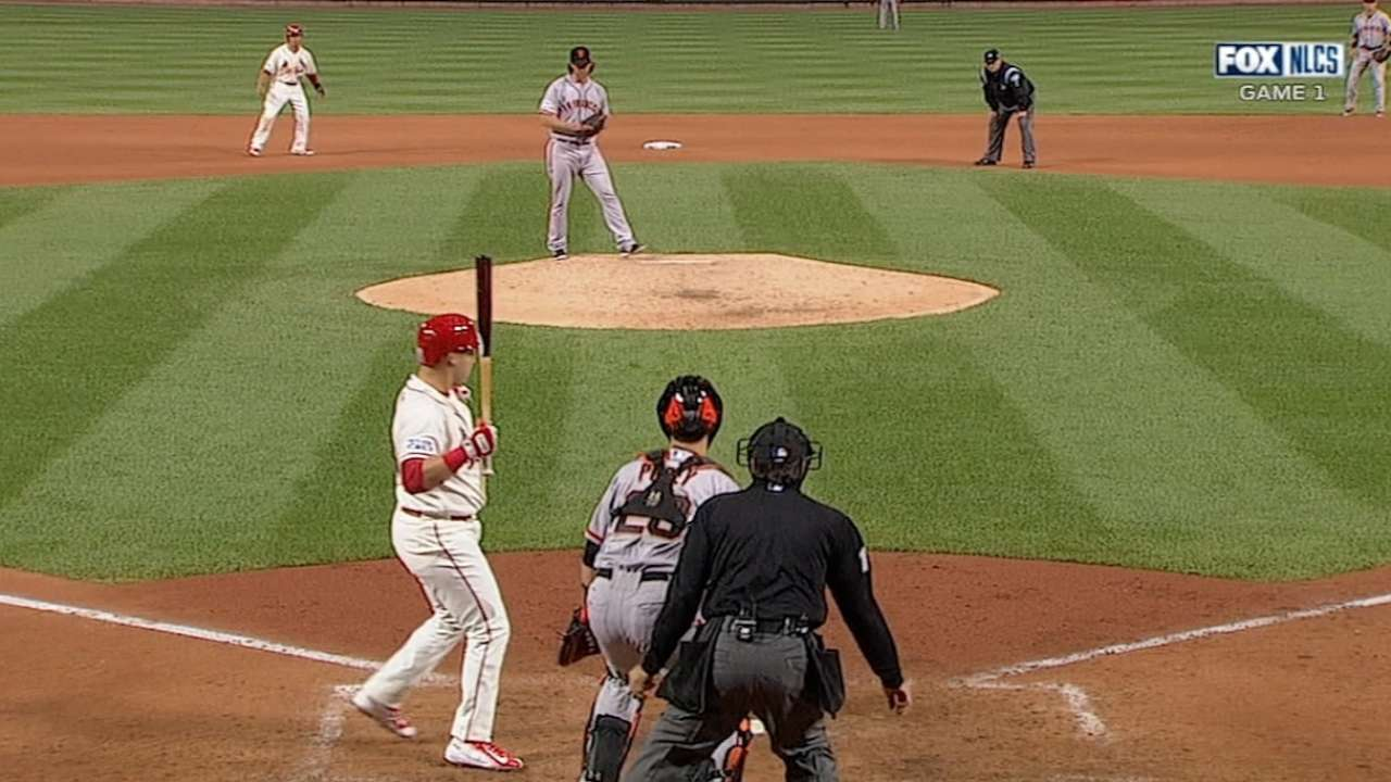 Balk that wasn't? Cards mad, move on