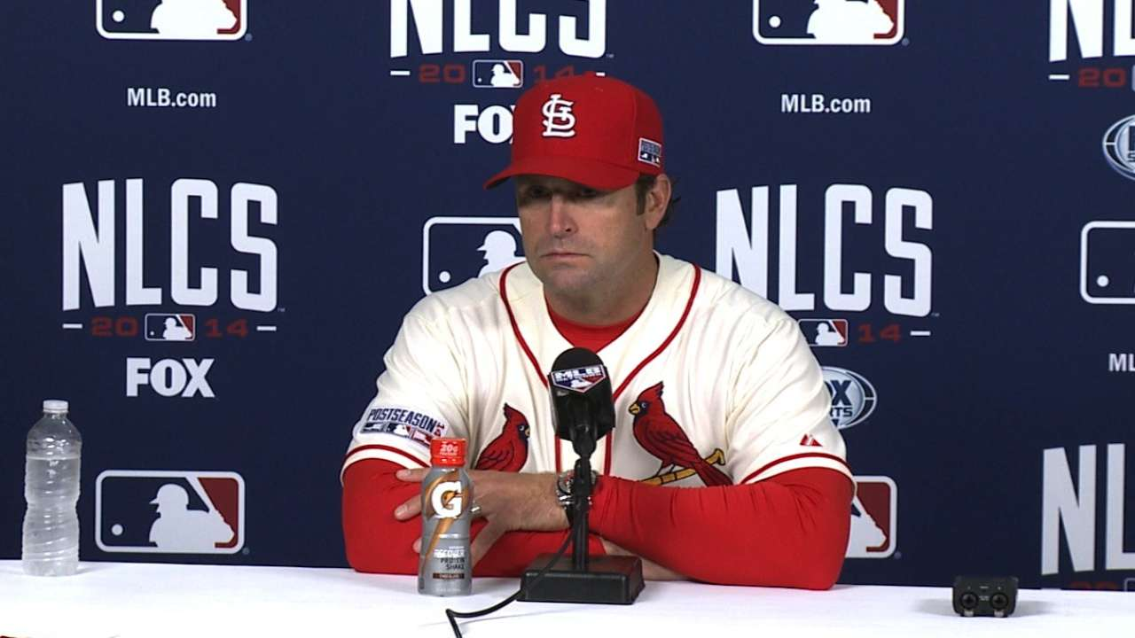 Matheny on NLCS Game 1 loss