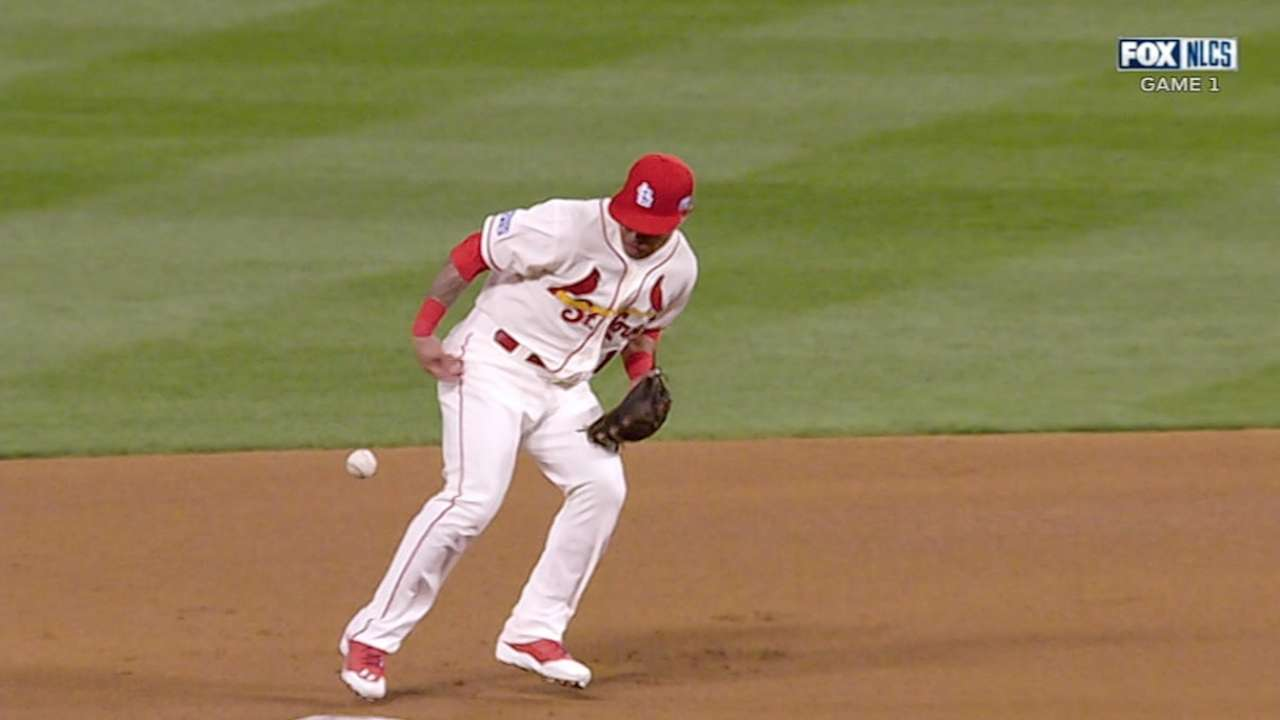 Cardinals' rare defensive struggles prove costly