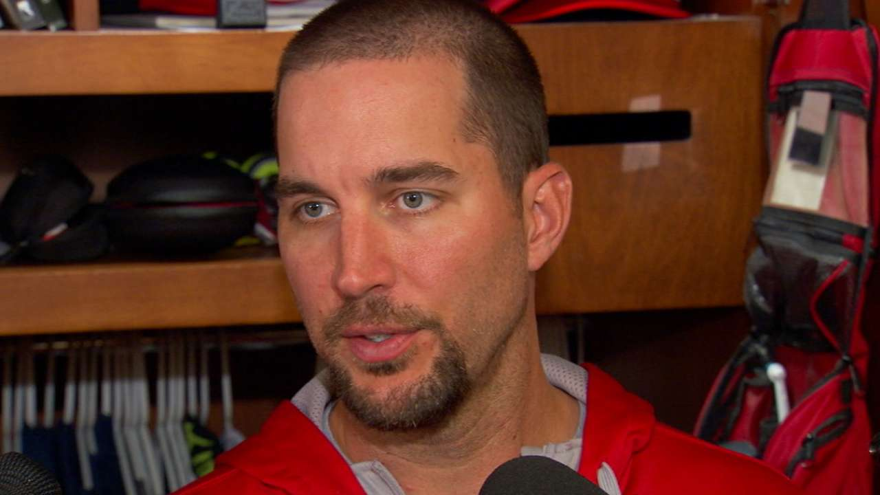 Wainwright 'adamant' about improving health