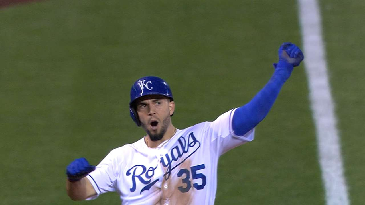 Royals bring momentum home