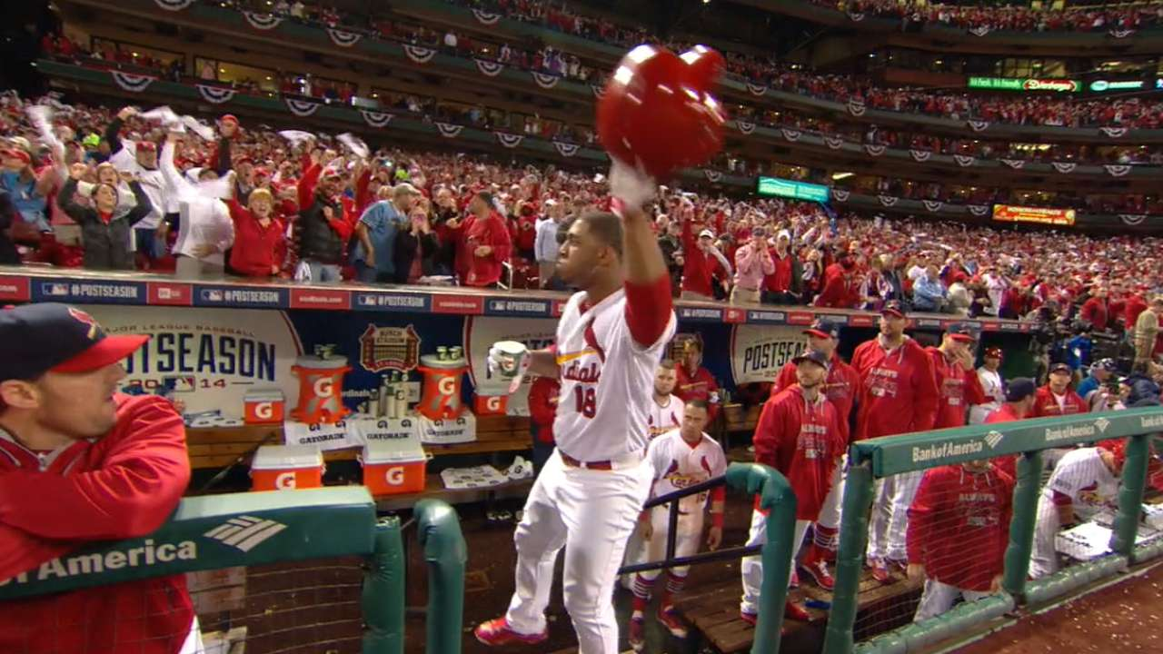 Must C: Taveras' pinch-hit homer