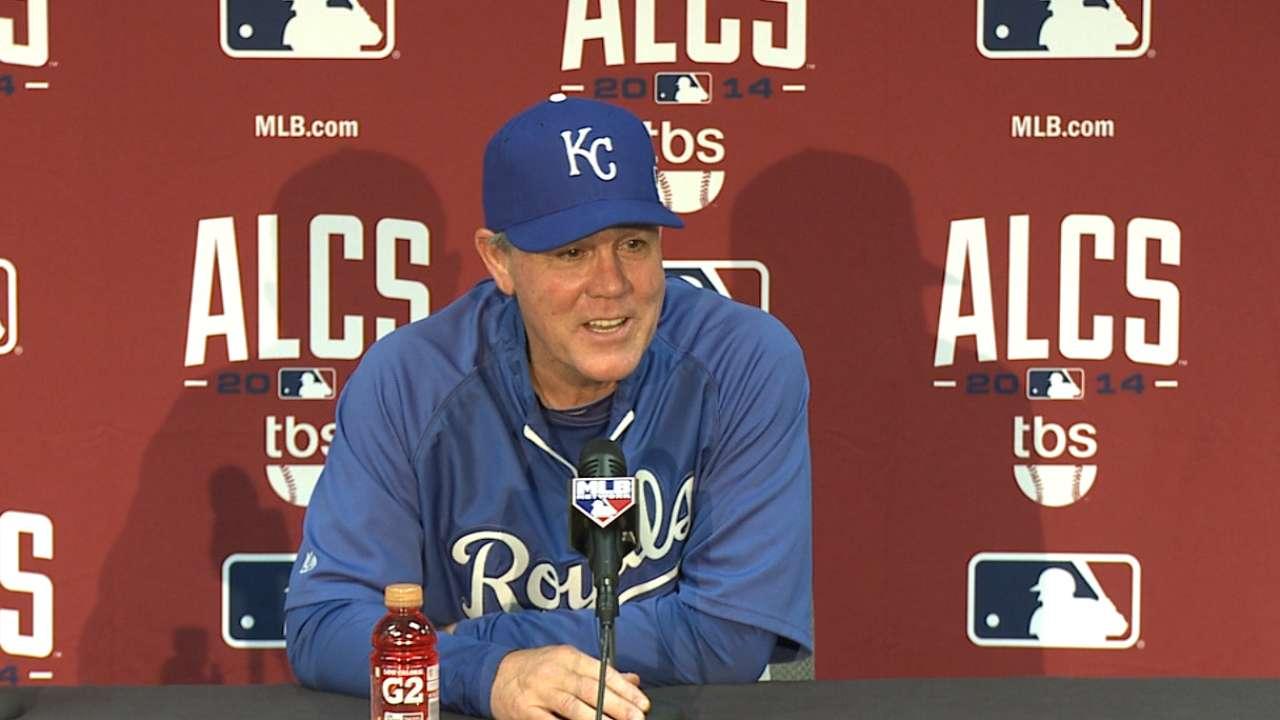 Oct. 13 Ned Yost interview