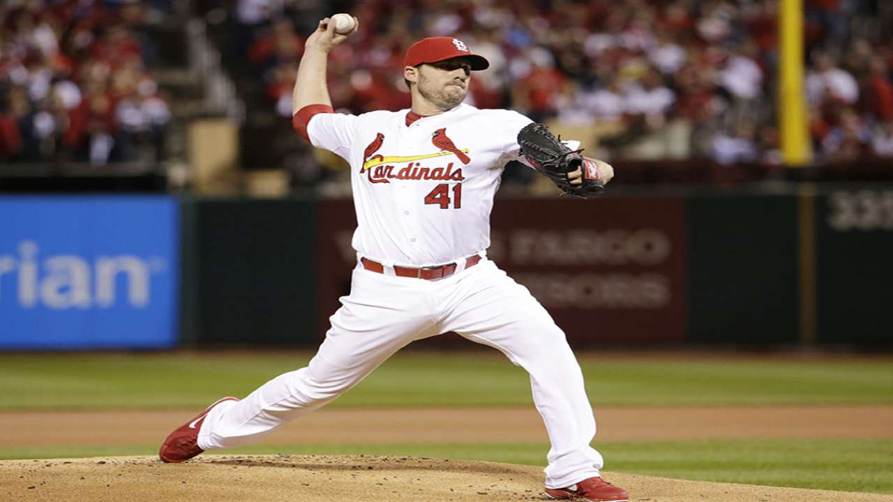 Intensity to accompany Lackey in Game 3