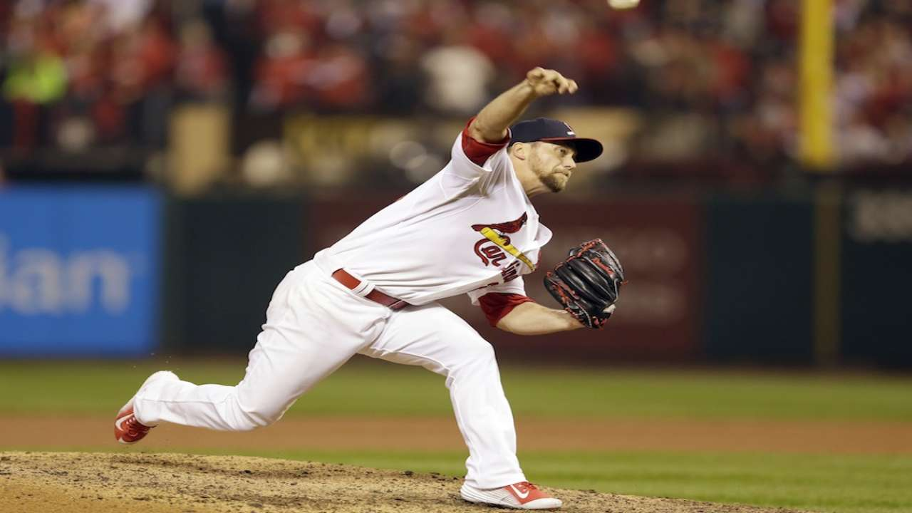 Oct. 13 Mike Matheny workout day interview