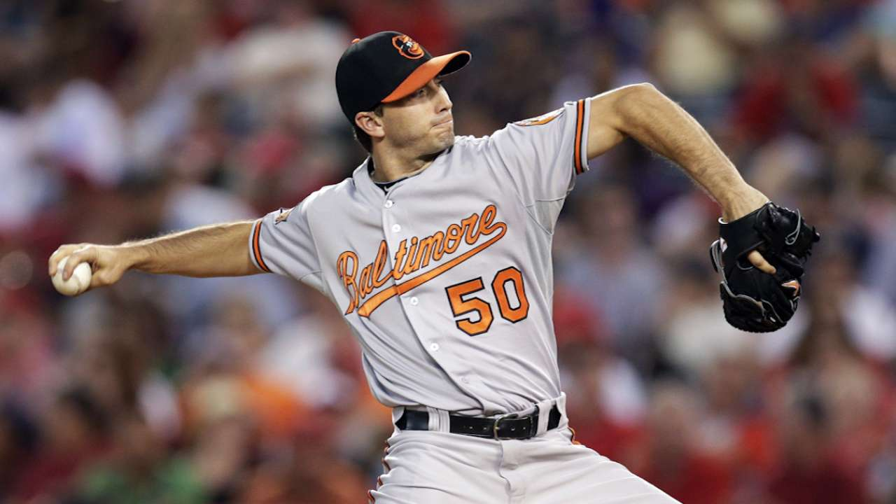 Backs against wall, O's turn to Gonzalez in Game 4