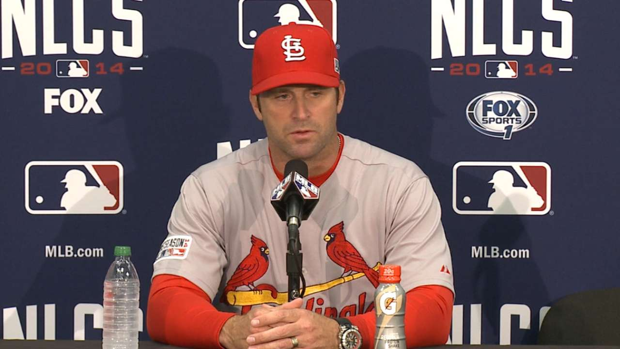 Cardinals' resolve front and center in tough setback