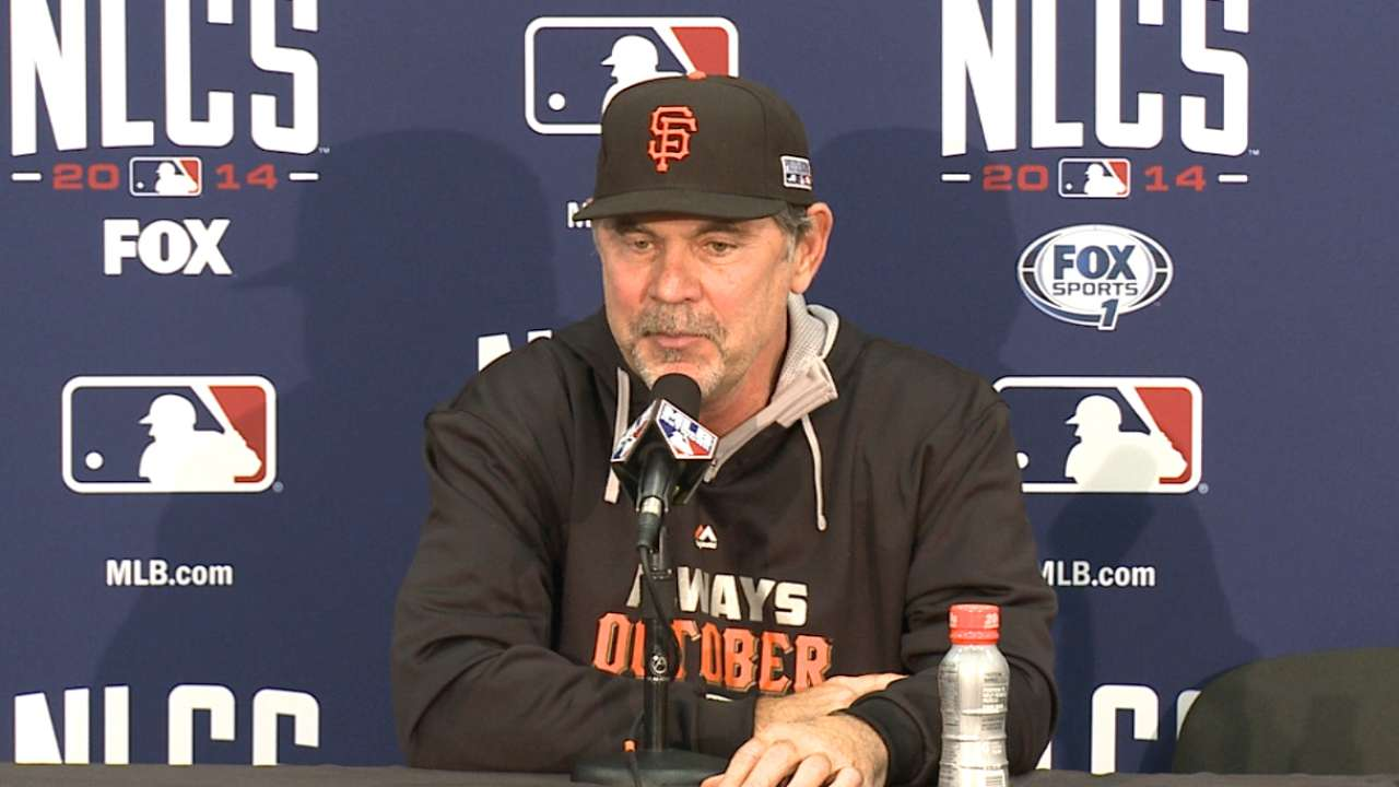 Bochy on extra-inning rally