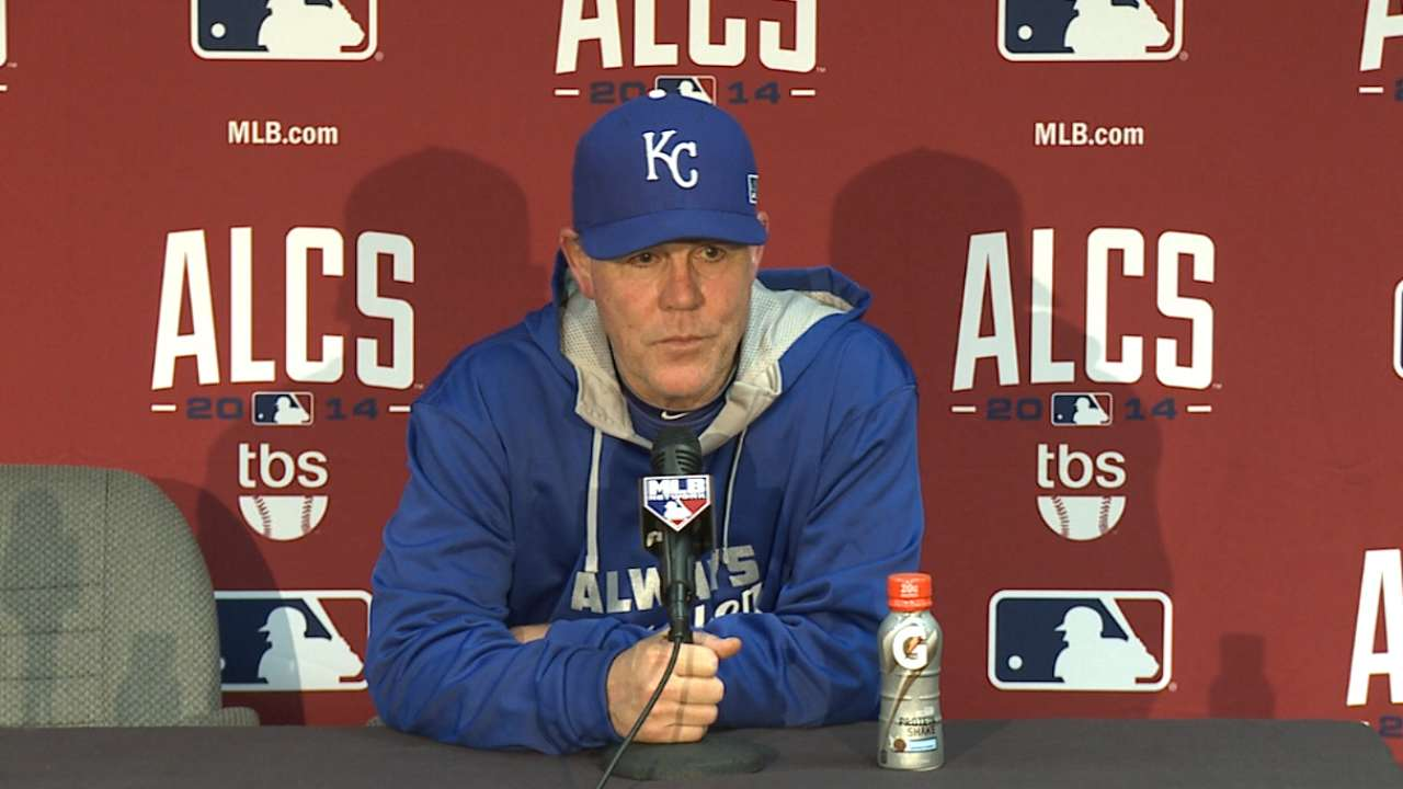 Royals follow blueprint to take 3-0 ALCS lead