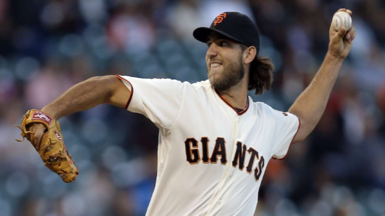 Giants turn to Bumgarner with NL pennant within reach
