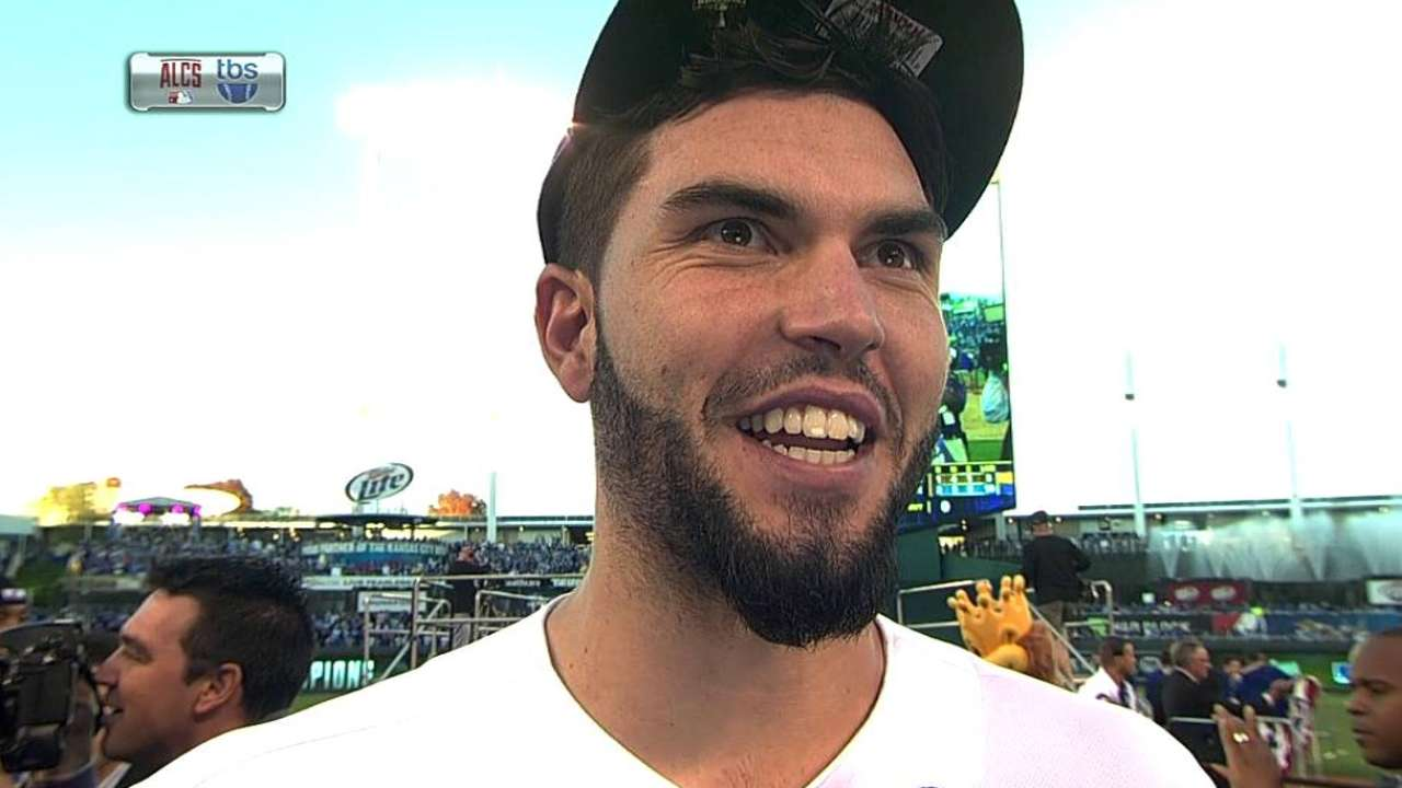 Hosmer on going to the WS