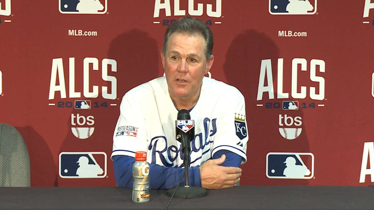 Yost on Royals' ALCS sweep