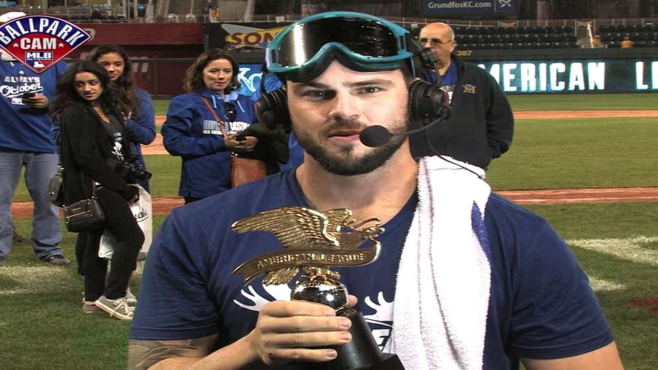 Mike Moustakas joins MLB Tonight