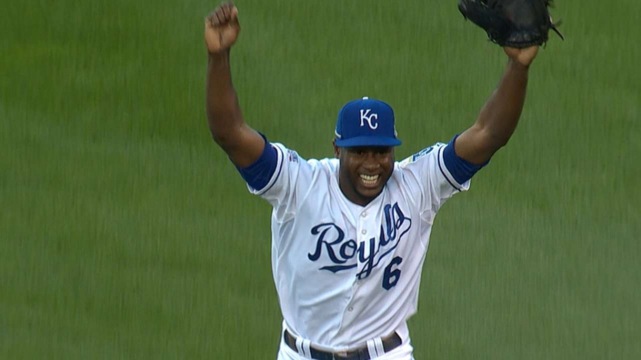 Royal Cain: Outfielder named ALCS MVP