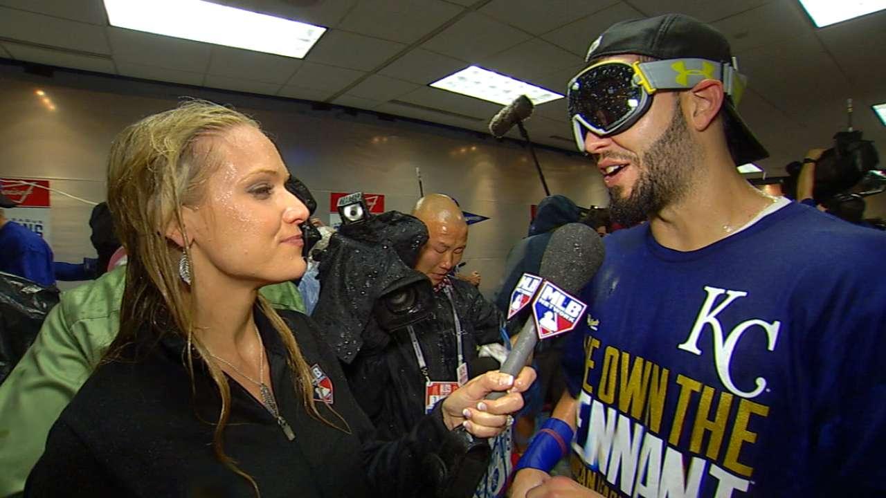 Hosmer talks Royals' ALCS sweep