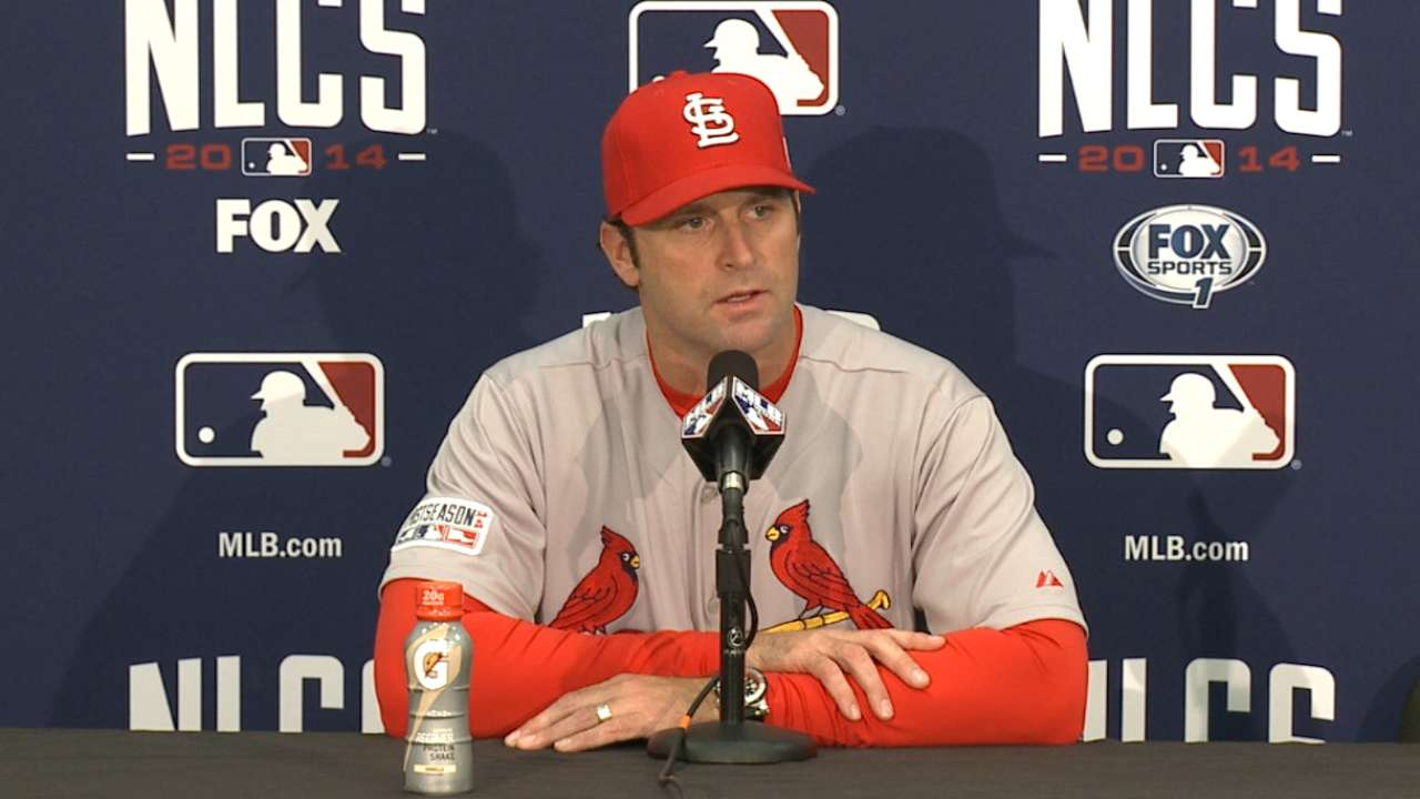 Oct. 15 Matheny postgame interview