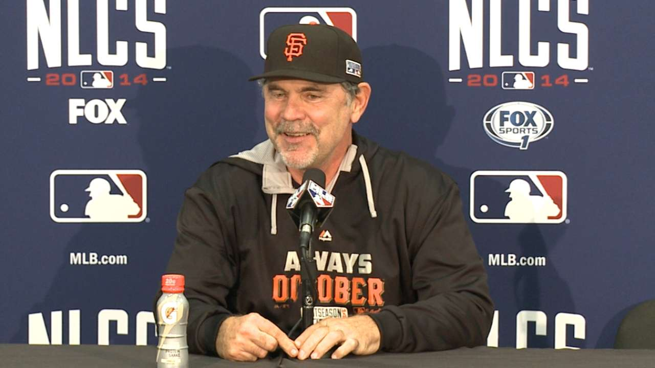 Oct. 15: Bruce Bochy postgame interview
