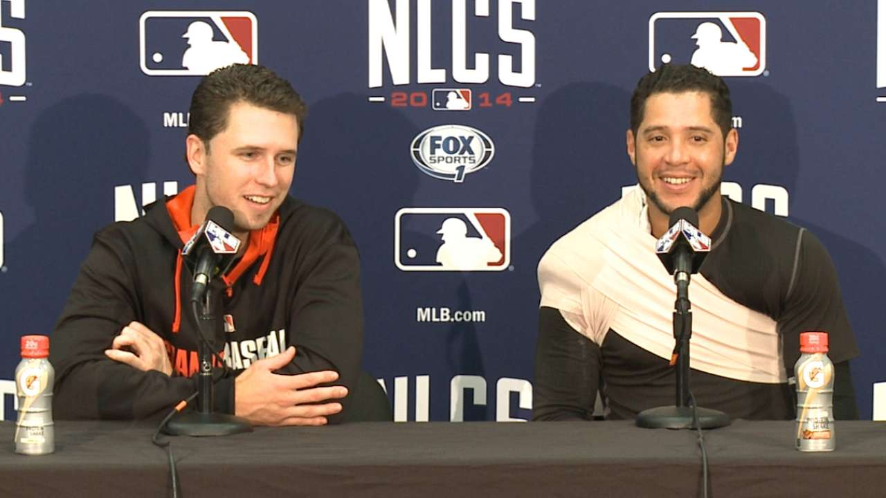 Posey, Blanco on Game 4 win