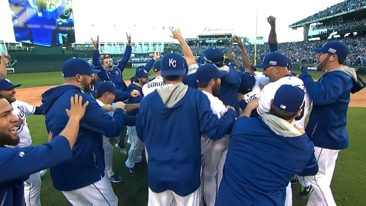 KC's win streak highlights record-setting postseason