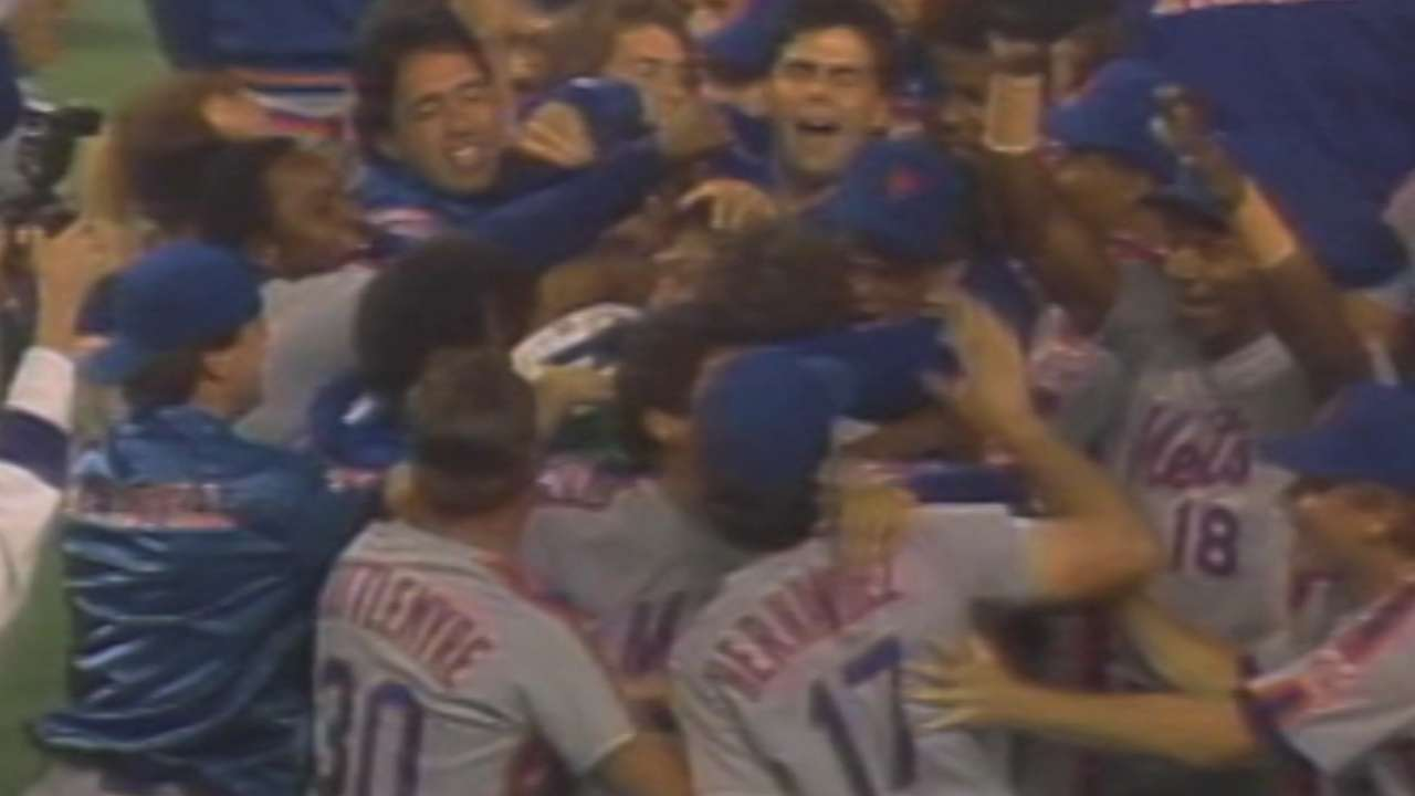 A look at the Mets' storied NLCS history