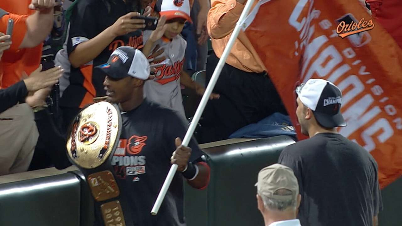In memorable '14 season, Orioles reclaim AL East
