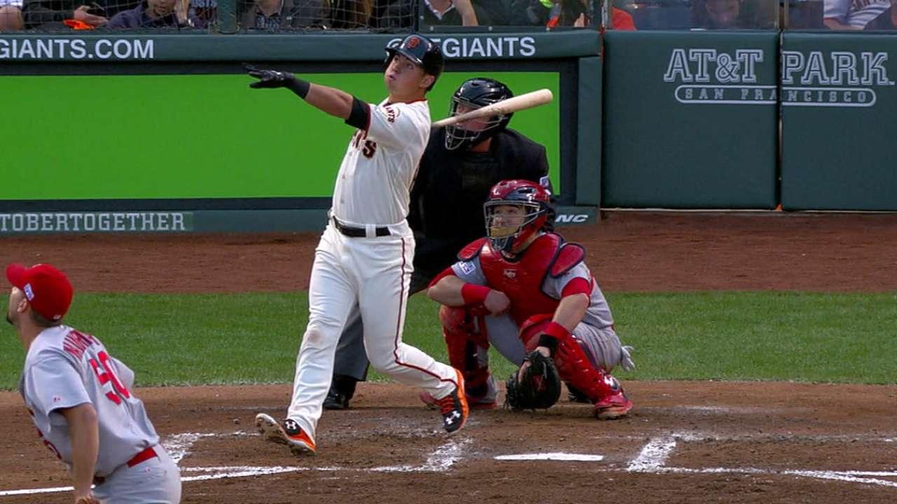 Panik's two-run homer