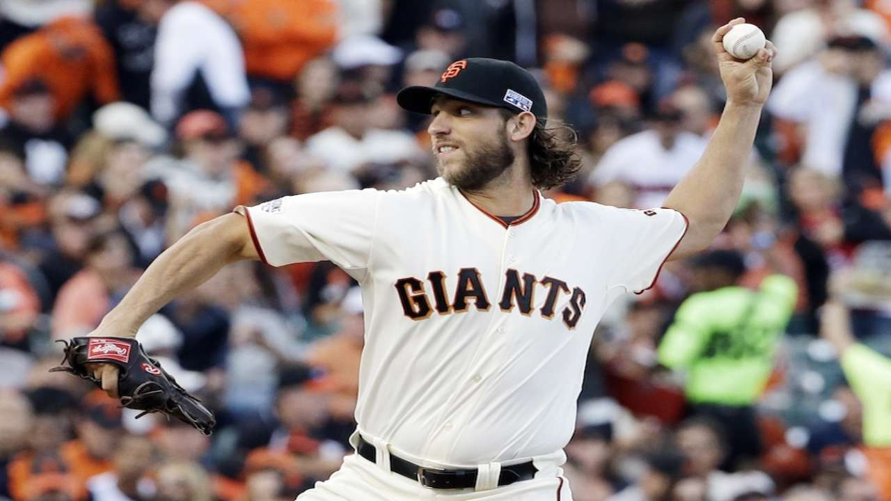 Behind MadBum, Giants to utilize same rotation