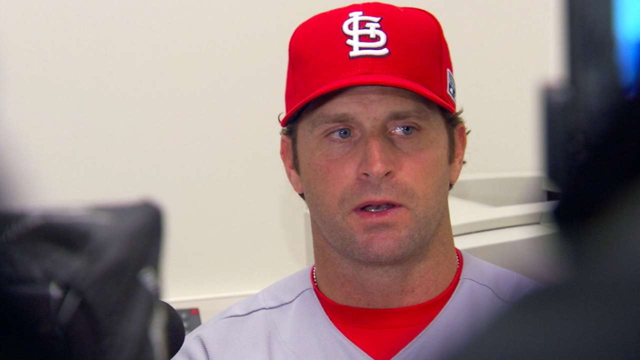 Matheny on Cardinals' NLCS loss