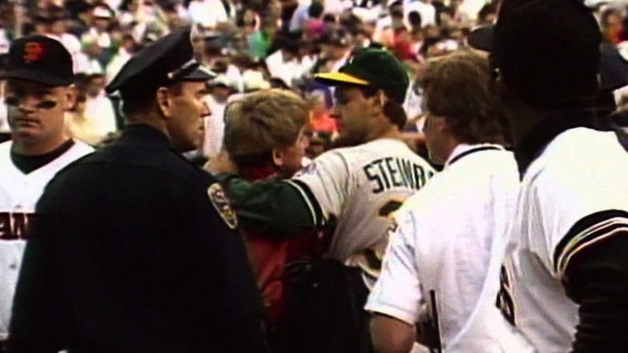 Remembering the '89 World Series