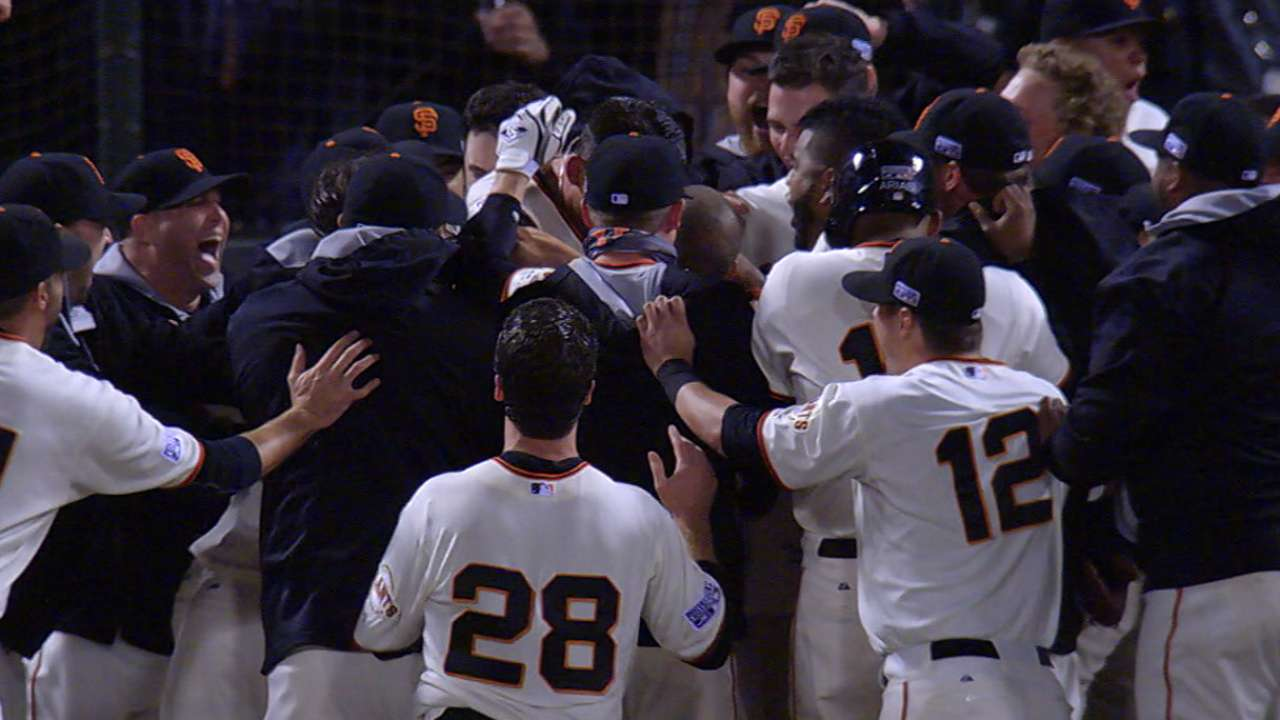 Must C: Giants clinch WS berth