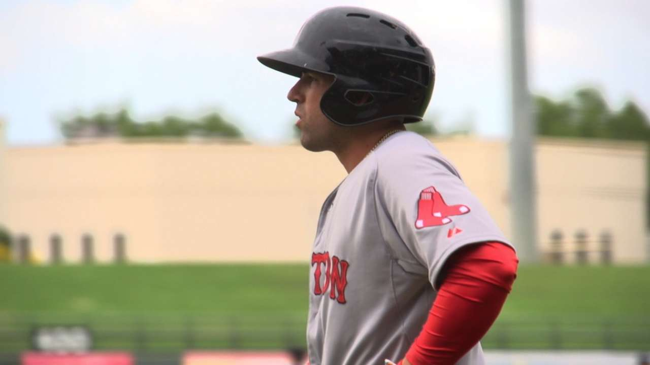 Boston's Marrero finds rhythm in Fall League play