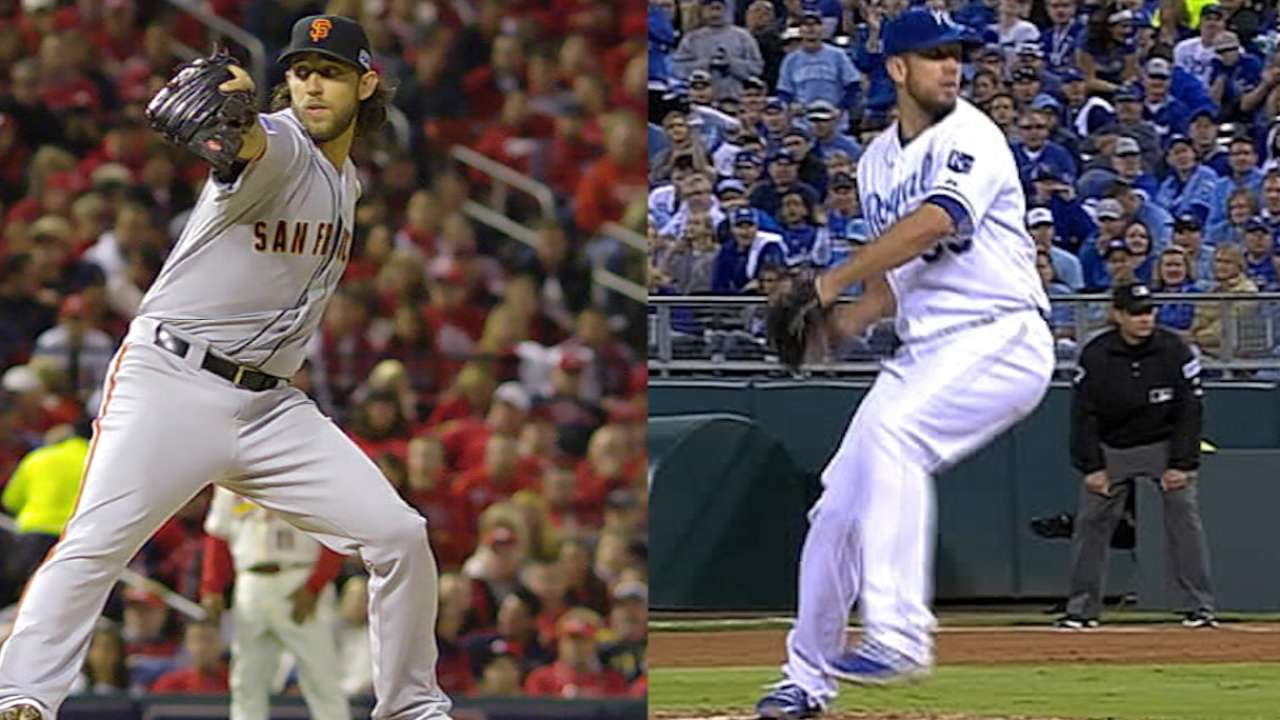 Ace-off: Bumgarner, Shields