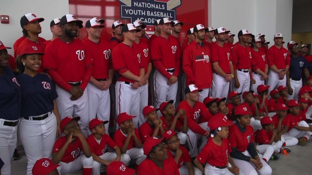 Big things ahead for Nationals' Dream Foundation