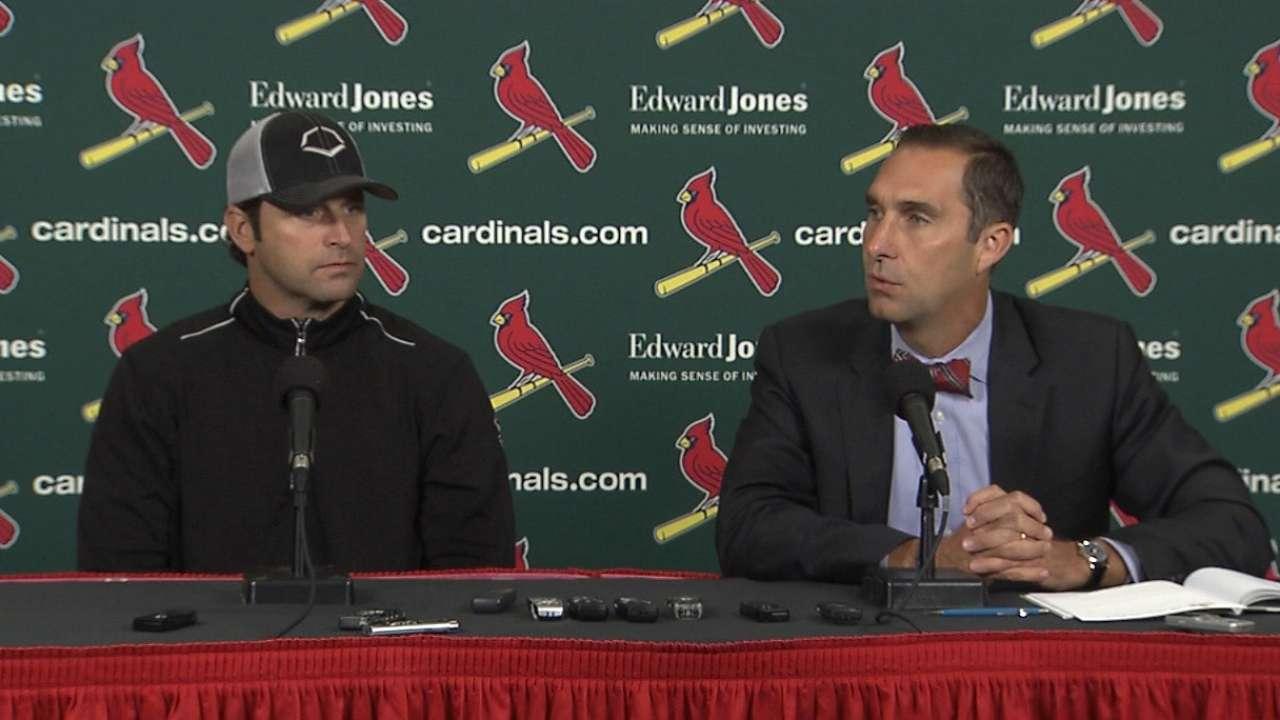 Cardinals prioritize upgrading bench, bullpen