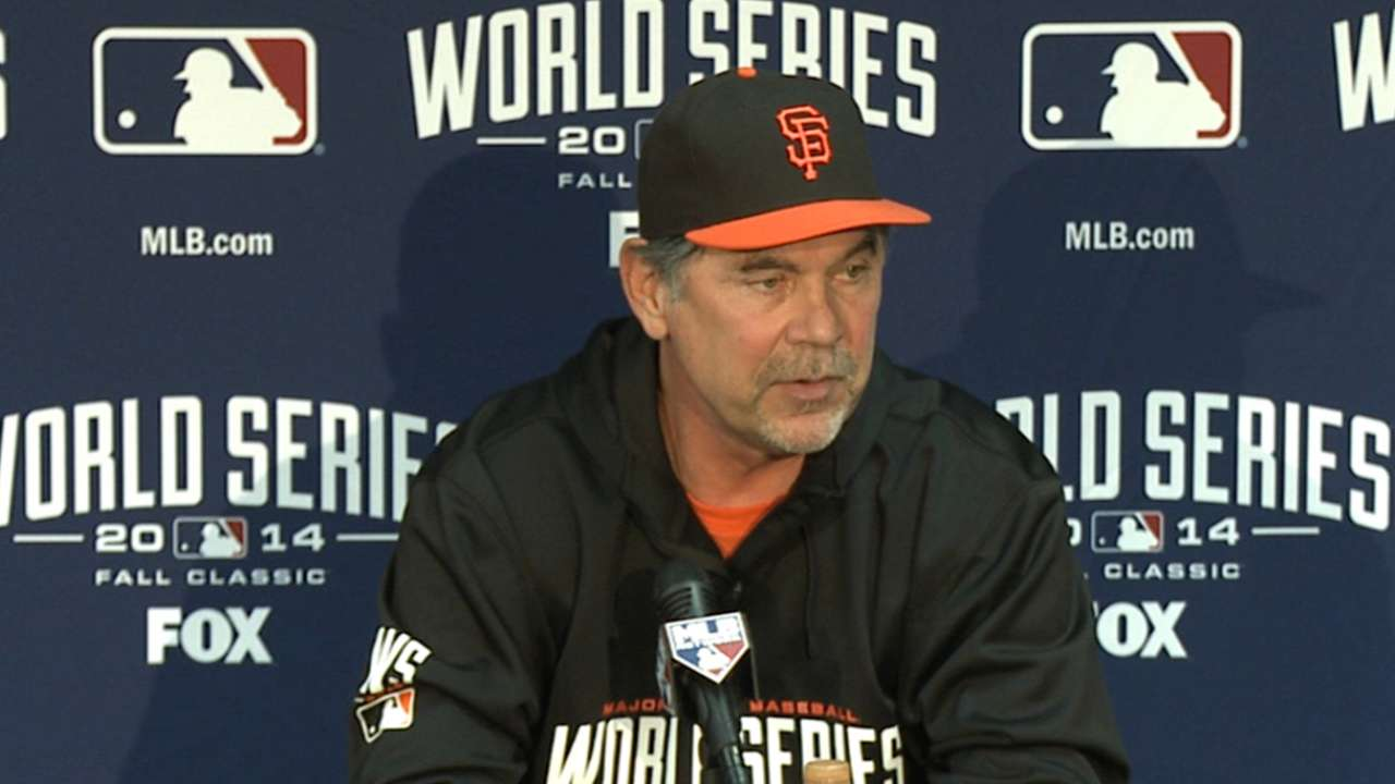 Giants can punch Bochy's Hall of Fame ticket