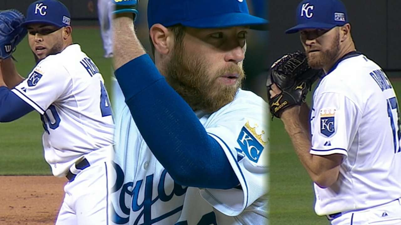 Royals boast trifecta in bullpen