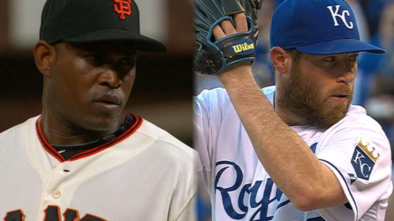 Crucial Giants-Royals World Series matchups