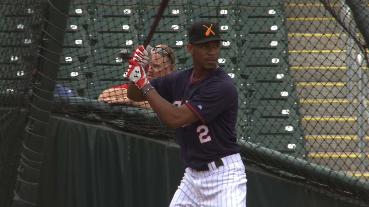 Thrilled to be back, Buxton leads Twins' AFL class