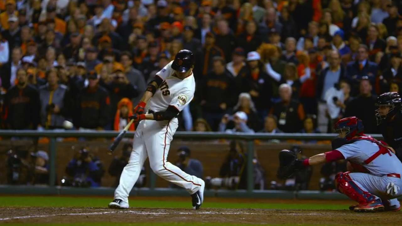 Giants' pinch-hitting options limited in Kansas City