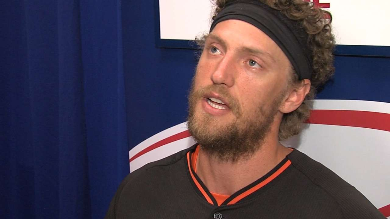 No changes to Giants' roster for World Series