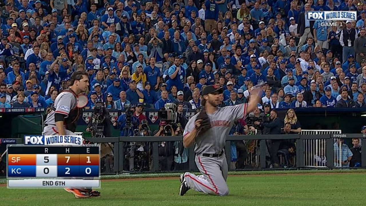 Bumgarner recovers for the out