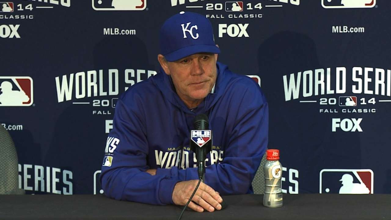 Oct. 21: Ned Yost postgame interview