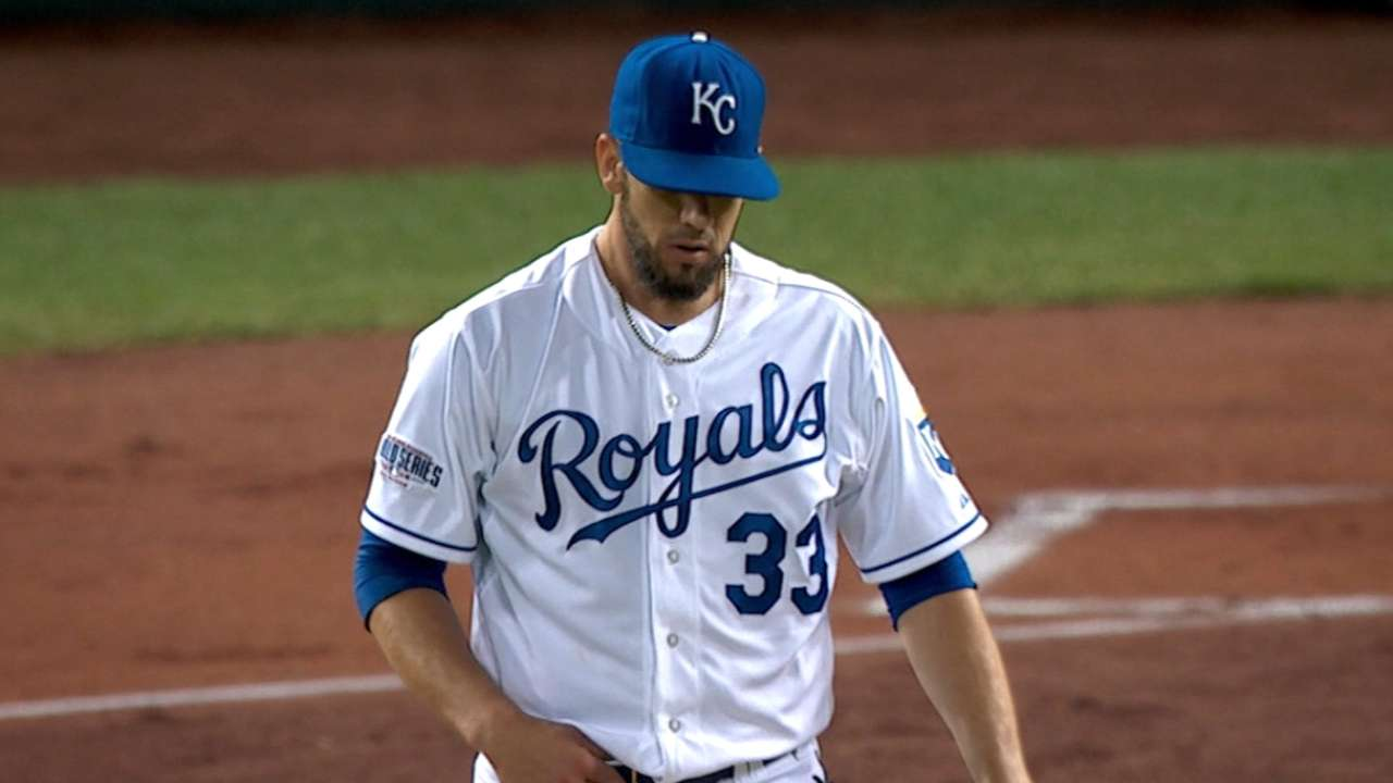 Royals drop World Series Game 1