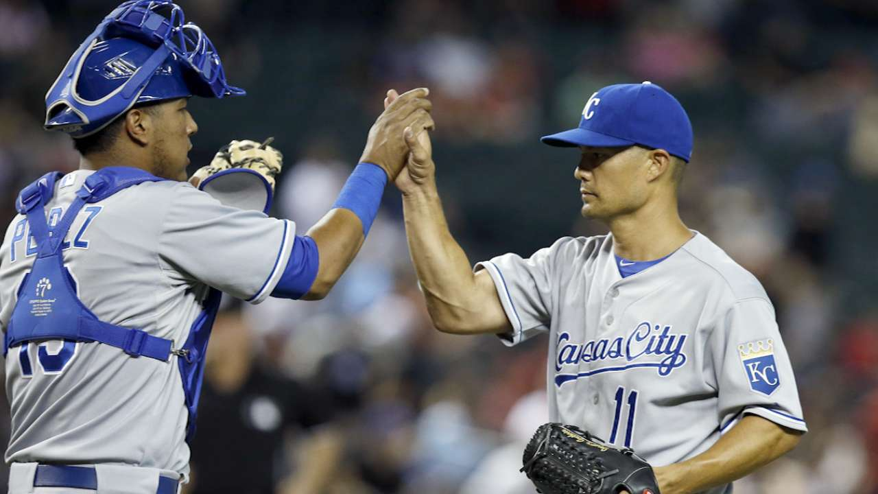 Tale of the tape: Royals-Giants, Game 3