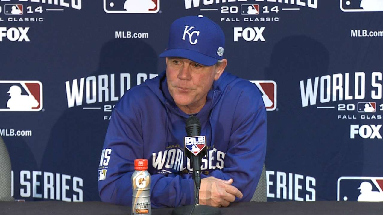 Oct. 22 Ned Yost postgame interview