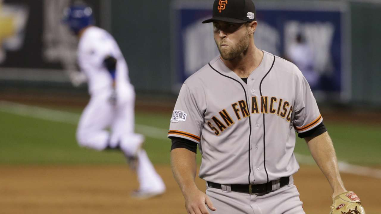 Giants relievers unable to execute Bochy's plan